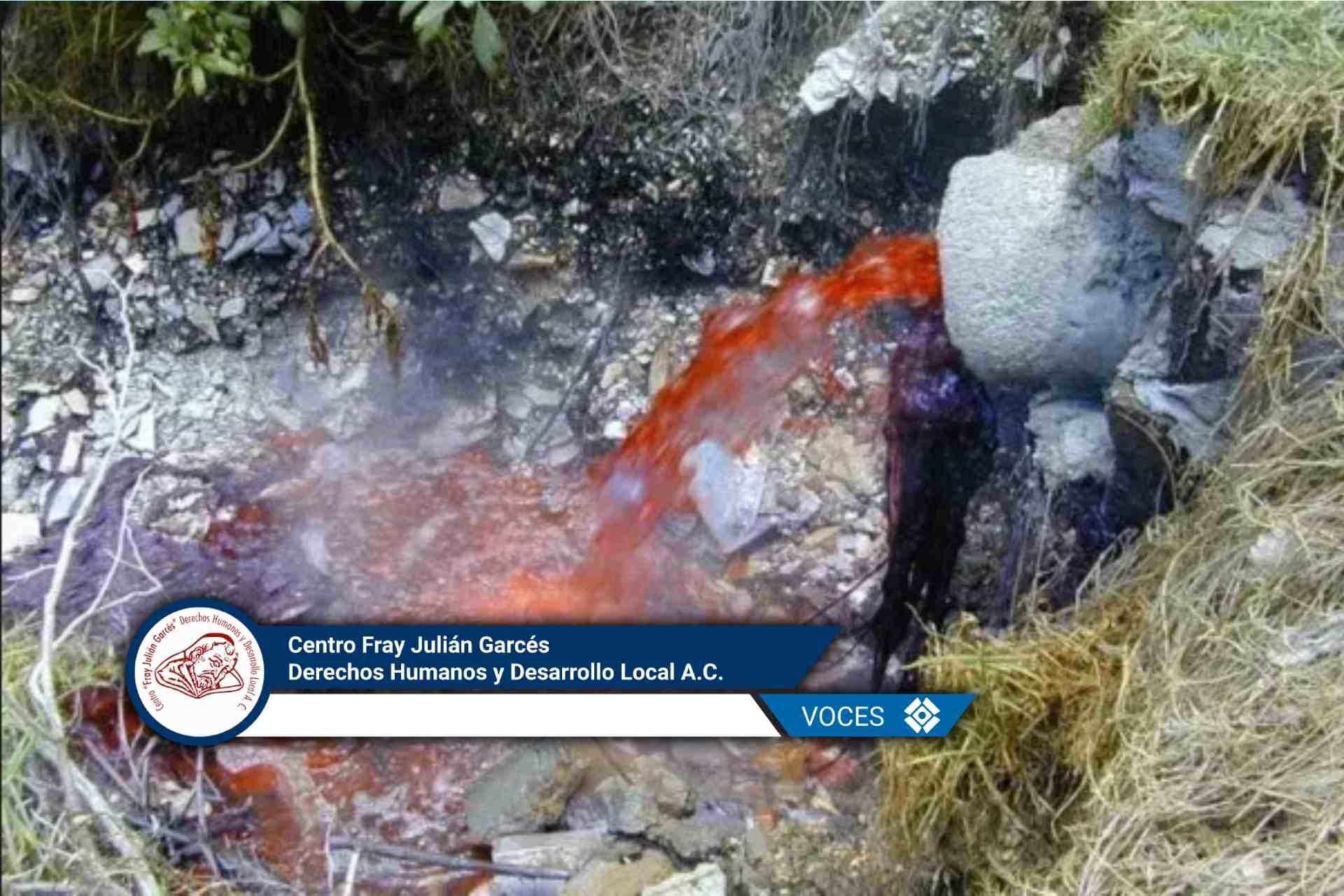 Atoyac-zahuapan-zona de sacrificio-Tlaxcala-Centro Fray Julián Garcés-Derechos Humanos y Desarrollo Local