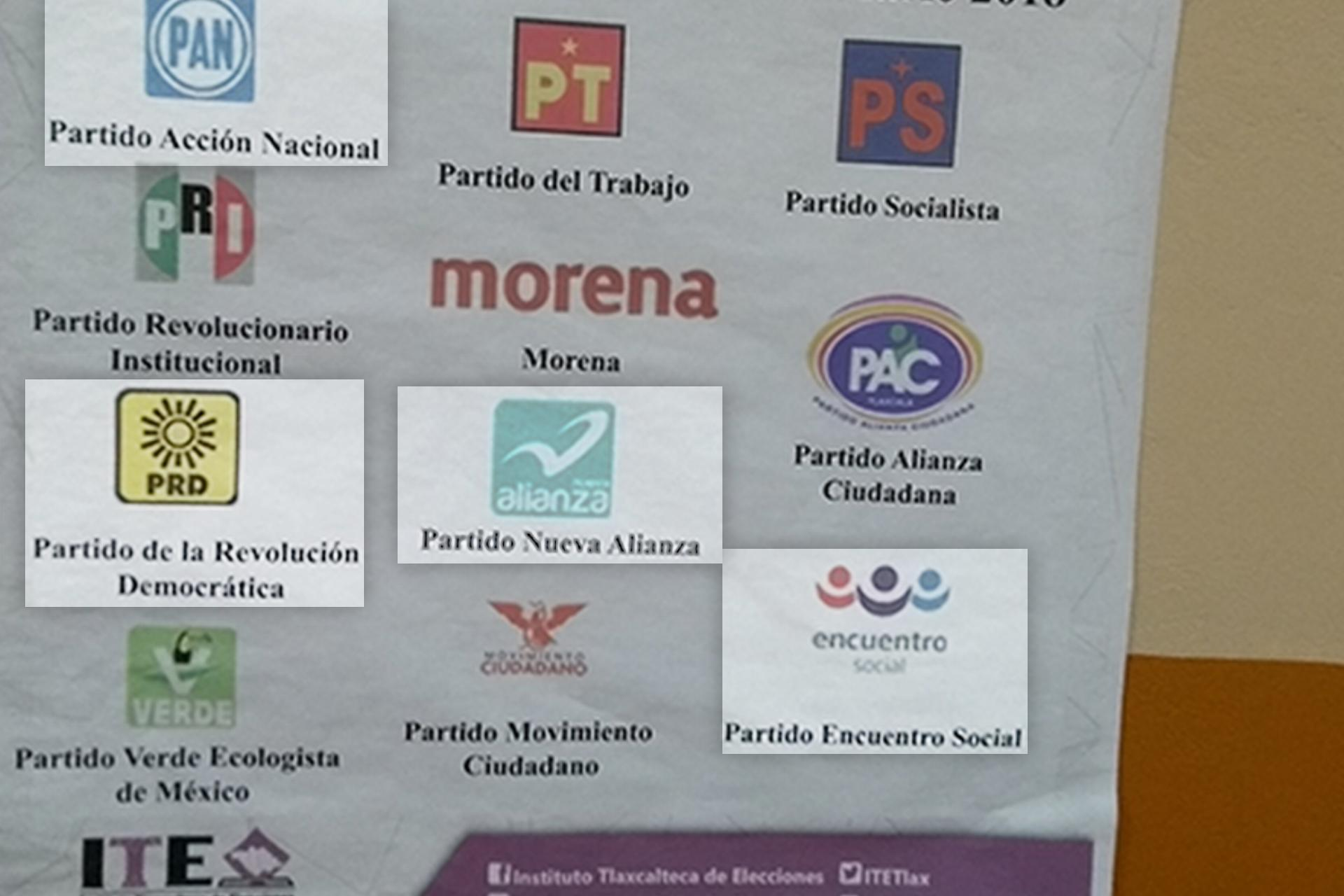 PT-PRI-PVEM-MORENA-PAC-PS-IMPACTO SOCIAL-ENCUENTRO SOLIDARIO-FUERZA POR MÉXICO-REDES SOCIALES PROGRESISTAS-NUEVA ALIANZA-PRI-PAN-Constitución violeta Tlaxcala-3 de 3 contra la violencia de género-Las Constituyentes mx