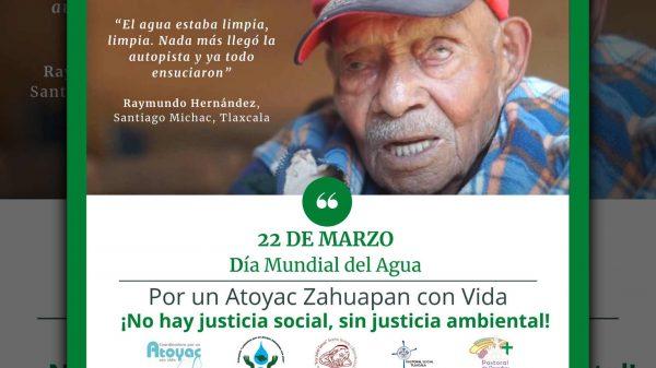 Atoyac-Zahuapan-Centro Fray Julián Garcés-Día Mundial del Agua
