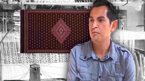 Pedro Netzahualcóyotl-Tlaxcala-Contla-Premio Nacional de ARte Popular-Fonart-zarape-telar