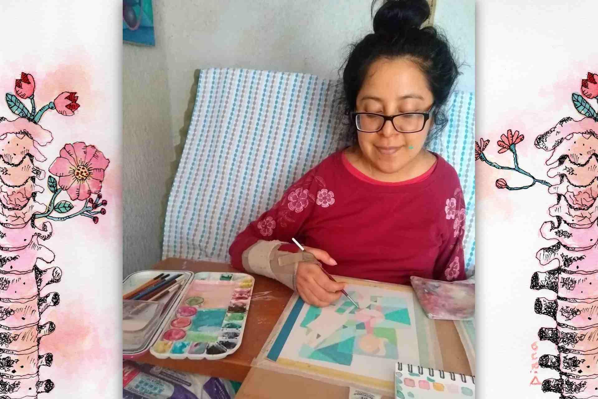 Trozos de vida-ITC-Instituto Tlaxcalteca de Cultura-Convocatoria-Personas con discapacidad-pintura