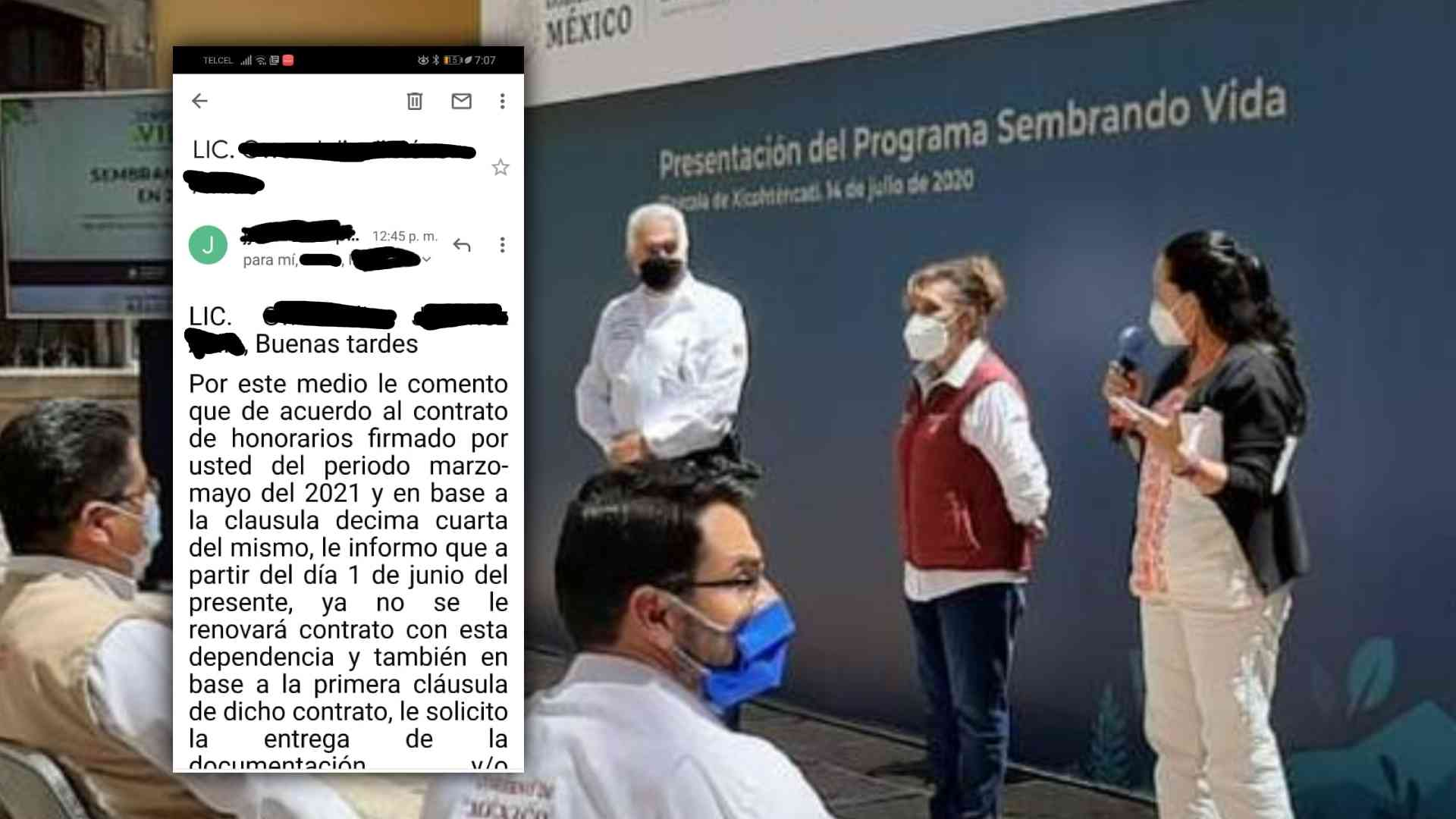 Lorena Cuéllar-programa Sembrando vida-Elecciones 2021