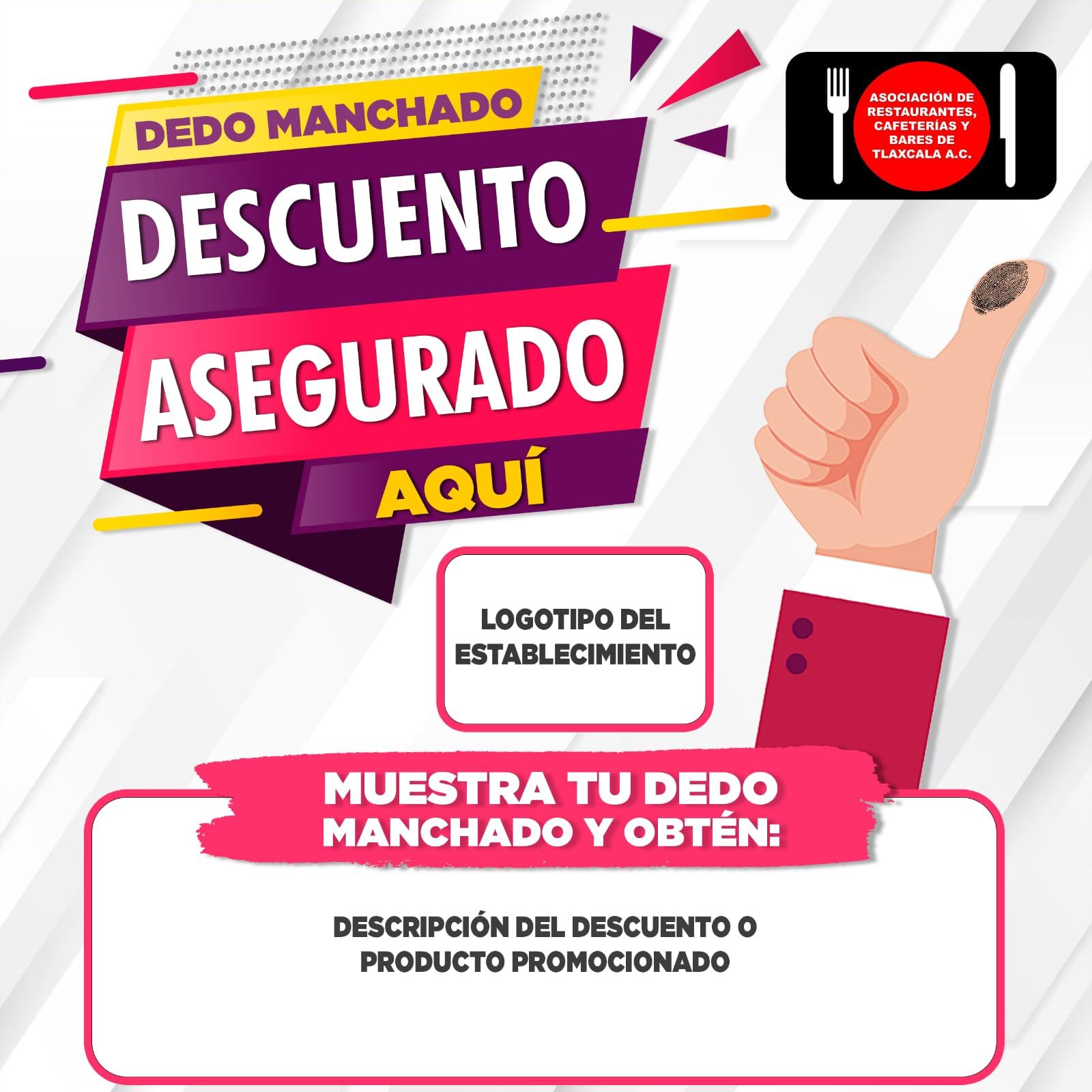 empresas-elecciones 2021-Tlaxcala-dedo manchado-Coparmex-Canirac-restaurantes-bares-cafeterías